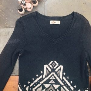 🌻Navy Blue Holiday Sweater / XS